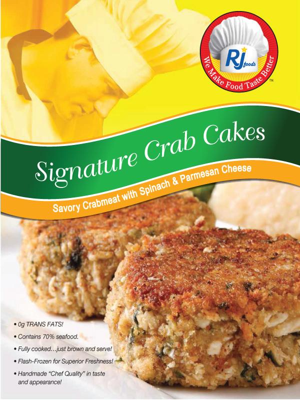 Signature Crab Cakes POS