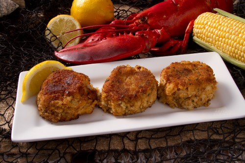 Lobster and Shrimp Cakes